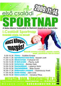 I. Családi Sportnap